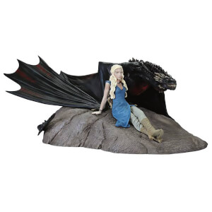 Dark Horse Game of Thrones Daenerys & Drogon Statue