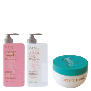 Pure Colour Angel & Sacred Argan Mask Trio Pack (Worth $100.85)