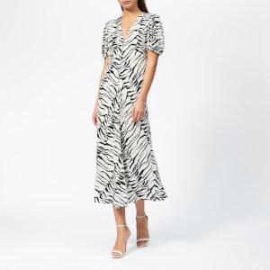 RIXO Women's Tonya Tiger Dress - Black/White