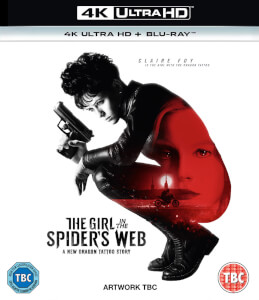 The Girl In The Spider's Web - 4K UltraHD (Includes Blu-Ray)