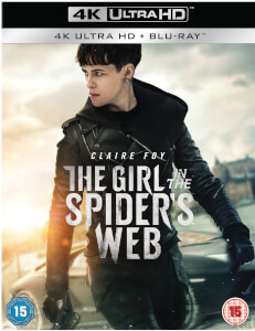 The Girl In The Spider's Web - 4K Ultra HD (Includes Blu-Ray)