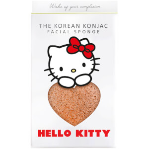 The Konjac Sponge Company Sanrio Hello Kitty Konjac Sponge Box and Hook - Pink Clay 30 g