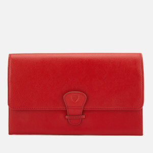 Aspinal of London Women's Travel Wallet - Classic - Scarlet