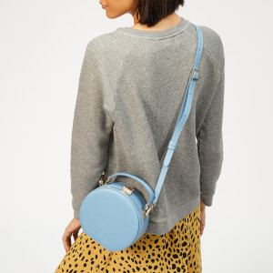 Aspinal of London Women's Hat Box - Mini (Slim Strap) - Bluebird: Image 3