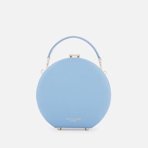 Aspinal of London Women's Hat Box - Mini (Slim Strap) - Bluebird: Image 2