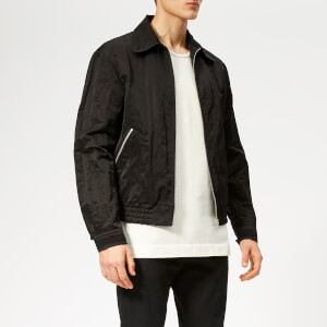 Maison Margiela Men's Washed Nylon Jacket - Black