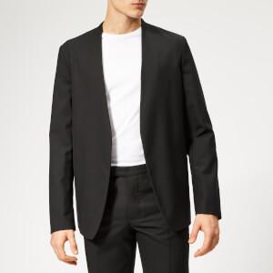 Maison Margiela Men's Wool Poplin Jacket - Black