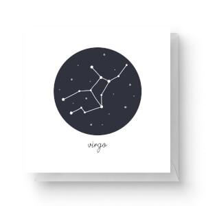 Virgo Square Greetings Card (14.8cm x 14.8cm)