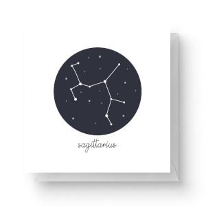 Sagittarius Square Greetings Card (14.8cm x 14.8cm)