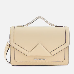 Karl Lagerfeld Women's K/Klassik Shoulder Bag - Biscuit