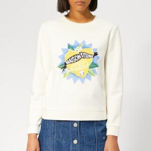 Maison Kitsuné Women's Limone Sweatshirt - Ecru