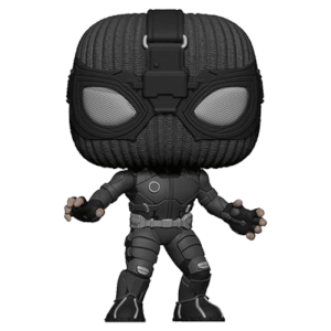 Marvel Spider-Man Far From Home - Spider-Man con tuta stealth Figura Pop! Vinyl