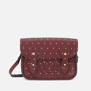 The Cambridge Satchel Company Women's Tiny Satchel - Gold Dot Oxblood