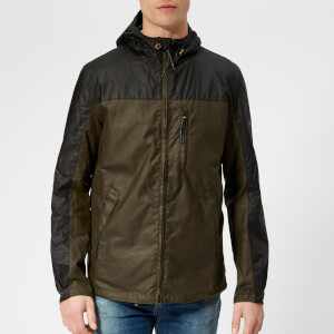 Barbour International Men's Lanark Wax Jacket - Archive Olive