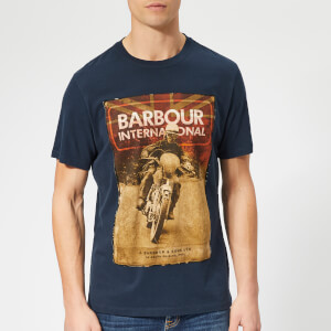 Barbour International Men's Archive T-Shirt - Navy