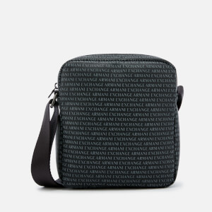 Armani Exchange Men's Reporter Bag - Nero