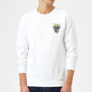 Spyro Retro Pocket Sweatshirt - White
