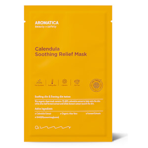 AROMATICA 7 Calendula Soothing Relief Mask (1EA) (Free Gift)