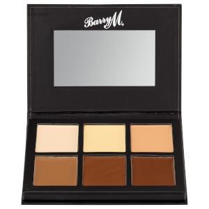 Barry M Cosmetics Chisel Cheeks Contour Cream Kit (Free Gift)