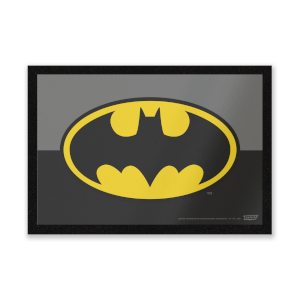 DC Comics Batman Logo Entrance Mat