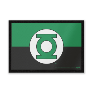 DC Comics Green Lantern Logo Mat Entrance Mat