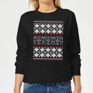 Star Wars Imperial Darth Vader Women's Christmas Sweatshirt - Black