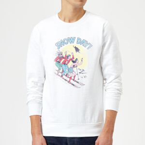 DC Snow Day! Christmas Sweatshirt - White