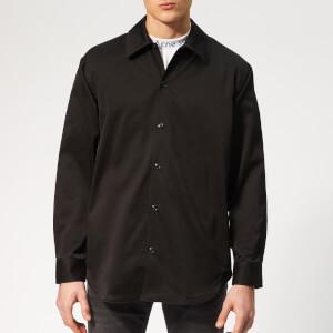 Acne Studios Men's Houston Oversized Shirt - Black