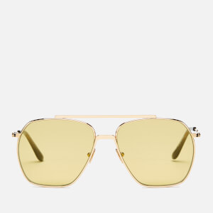 Acne Studios Men's Anteom Sunglasses - Gold/Yellow