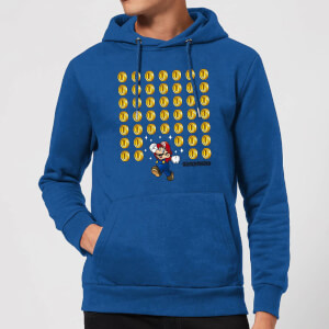 Nintendo Super Mario Coin Drop Hoodie - Royal Blue