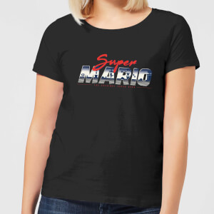 Nintendo Super Mario Original 80s Hero Women's T-Shirt - Black