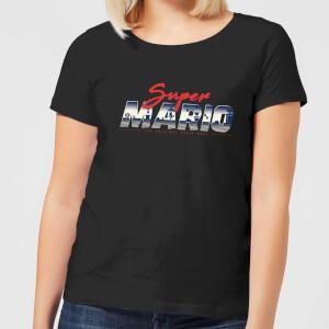 Nintendo Super Mario Original 80s Hero Women's T-Shirt - Black