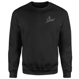 How Ridiculous XLIV Script Pocket Sweatshirt - Black