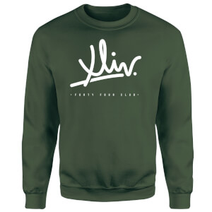 How Ridiculous XLIV Script Sweatshirt - Forest Green