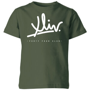 How Ridiculous XLIV Script Kids' T-Shirt - Forest Green