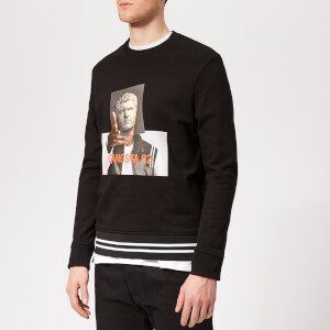 Neil Barrett Men's Gangsta 02 Sweatshirt - Black/Print