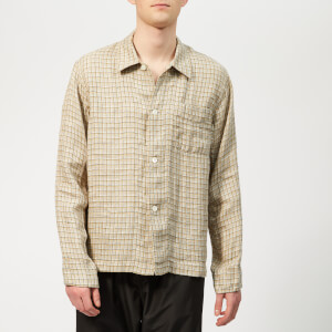 Our Legacy Men's Box Shirt - Raw Potato Yellow Check