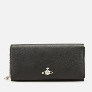 92a802103 Vivienne Westwood Women's Pimlico Long Wallet with Chain - Black