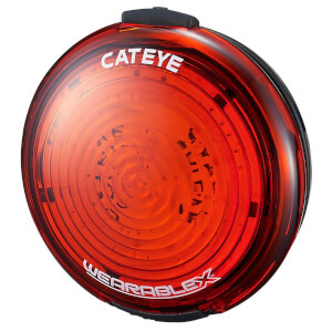 Cateye Wearable X Rear 35 Lumens LED USB Rechargeable Bike Light