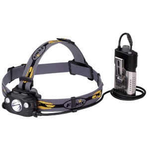 Fenix HP30R LED USB Rechargeable 1750 Lumens Head Torch - Black