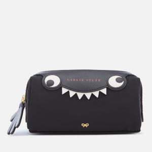 Anya Hindmarch Women's Nylon Girlie Stuff Monster Case - Black