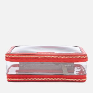Anya Hindmarch Women's In Flight Cosmetic Case - Red