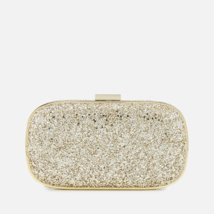 Anya Hindmarch Women's Marano Glitter Clutch Bag - Gold