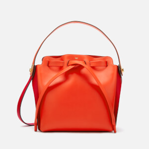 Anya Hindmarch Women's Shoelace Drawstring Mall Bag - Red