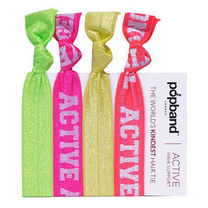 Popband London Active Angel Hair Ties gumki do włosów