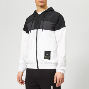Calvin Klein Performance Men's Wind Jacket - CK Black/Gunmetal/Bright White