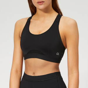 33387a688a3372 Calvin Klein Performance Women s Racerback Sports Bra - CK Black