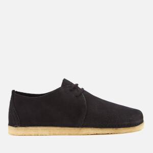Clarks Originals Women's Ashton Nubuck Lace Up Shoes - Black