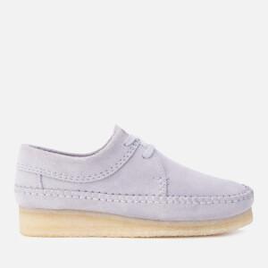 Clarks Originals Women's Weaver Suede Shoes - Cool Blue