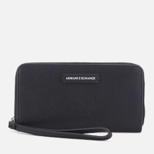 Armani Exchange Women's Wristlet Purse - Black
